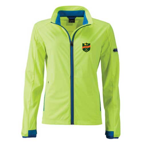 Let dame softshell jakke