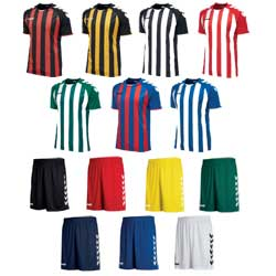 Hummel Core Stribed 11 Mands Holdsæt - Junior