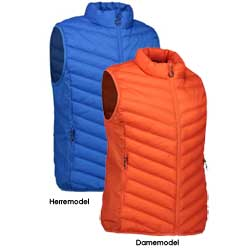 Stretch bodywarmer vest
